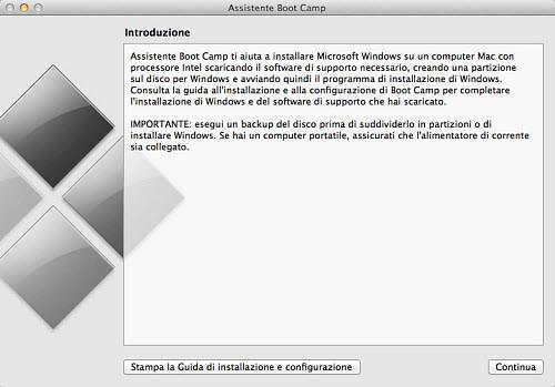 Figura 3: L'utility Assistente Bootcamp