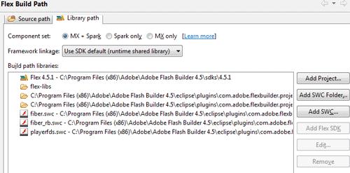Flex Build Path a configurazione completa