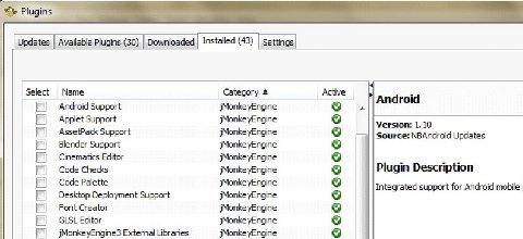 jmonkey: plugins