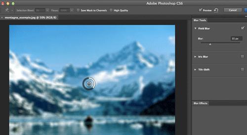 Le nuove funzioni sfumatura di Photoshop CS6
