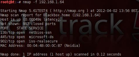 Nmap Packet Fragmentation