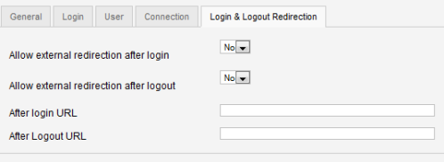 Login redirect con jFusion e Joomla
