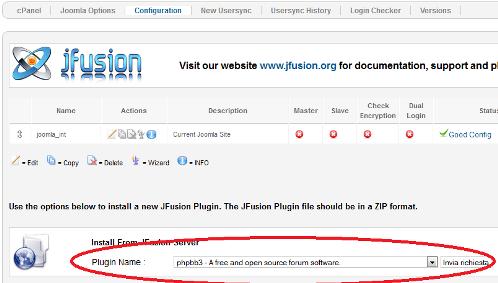 Configurazione di jFusion con phpBB3
