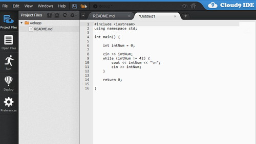 Figura 6: Cloud9 IDE