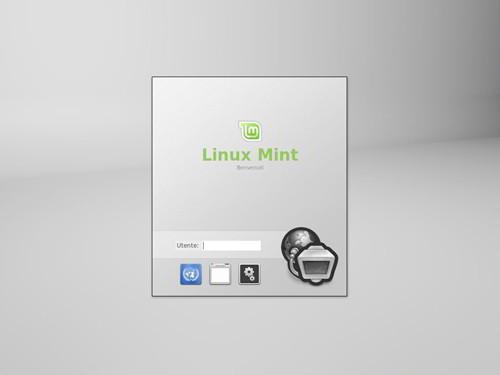 Figura 3: MDM e l'avvio di Linux Mint