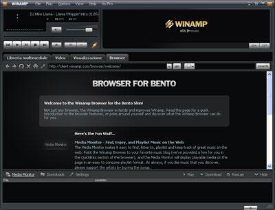 Browser integrato