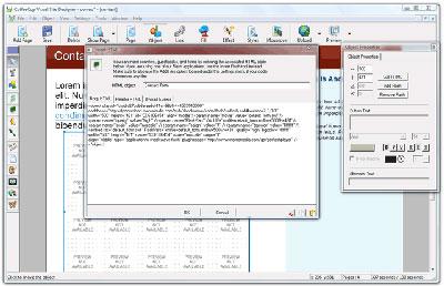 Box per l'inserimento diretto di codice HTML