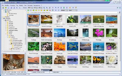 Interfaccia FastStone Image Viewer