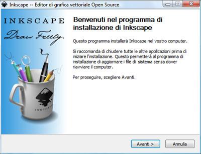 Installazione Inkscape