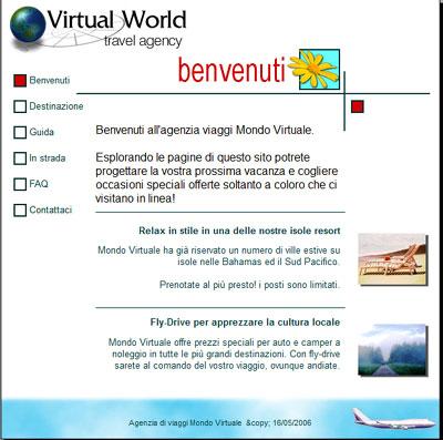 Esempio progetto sito web