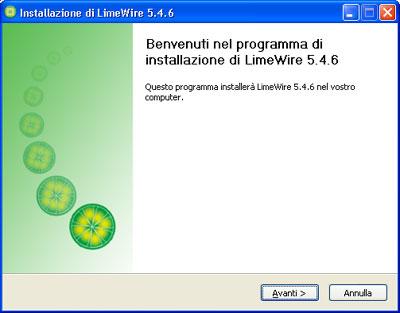 Installazione LimeWire Basic