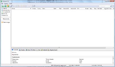 Interfaccia uTorrent