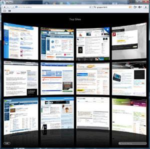 Top Sites Safari