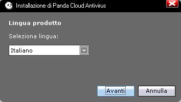 Installazione - Panda Cloud Antivirus