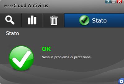 Interfaccia principale - Panda Cloud Antivirus Pro