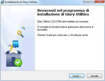 Installazione Glary Utilities