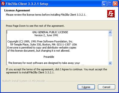 Installazione FileZilla Client