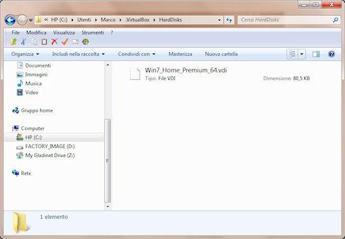 Dimensione minima del file immagine