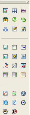 Fresh HTML: Barra degli strumenti
