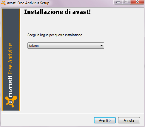 Avast! 6 Free Antivirus: Installazione