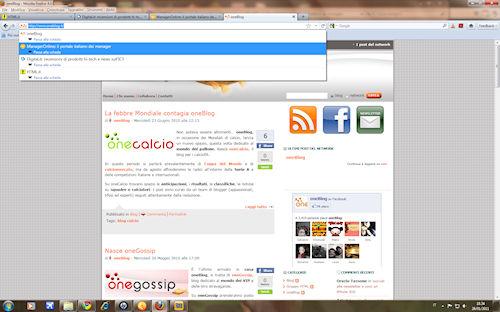 Firefox 4: Funzionalità di passaggio da una scheda all'altra