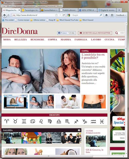 Interfaccia Firefox 4