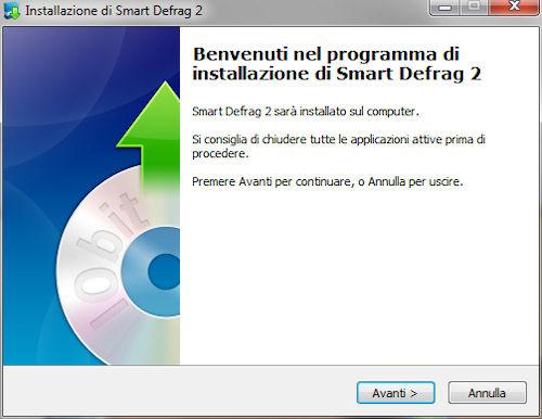 Smart Defrag 2: Installazione