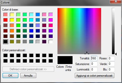 Smart Defrag 2: Pannello codice colori