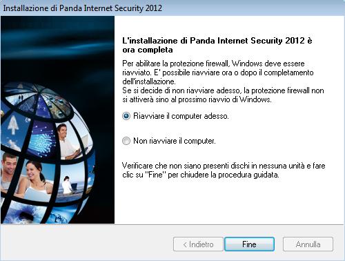 Procedura installazione Panda Internet Security 2012