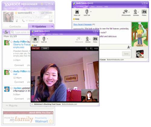 Yahoo Messsenger 2011: Esempi di impiego