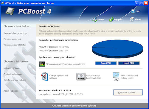 PCBoost 2011: Interfaccia grafica