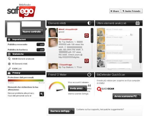 BitDefender Antivirus Plus 2012: Esempio di utilizzo di Safego