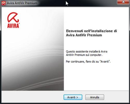 Avira AntiVir Premium: Installazione