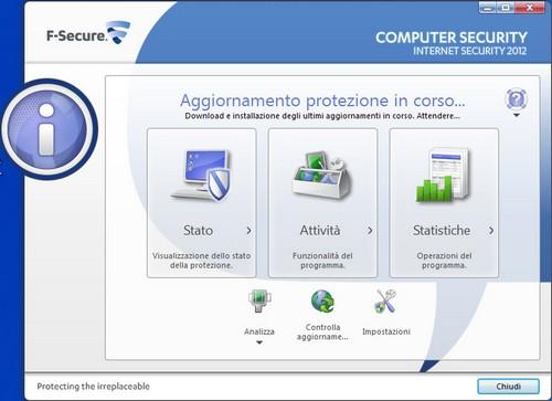 F-Secure Internet Security 2012: Area Computer Security