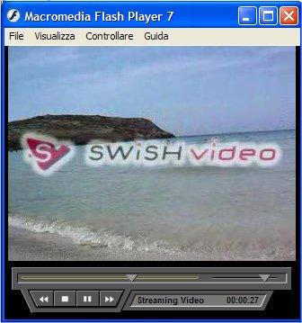 Filmato creato con SWiSHvideo