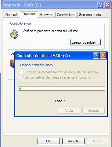 Scandisk di windows