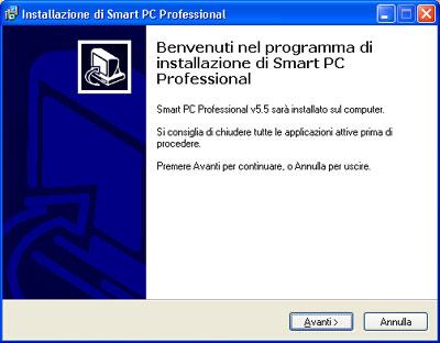 Installazione Smart PC Professional