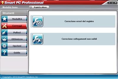 Correzione errori registro e collegamenti non validi