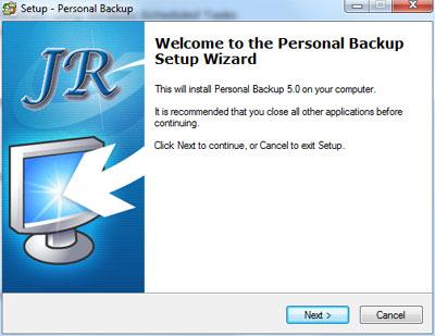 Installazione Personal Backup