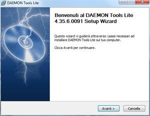 Installazione DAEMON Tools Lite