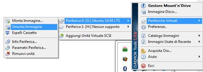 Rimuovere una periferica virtuale