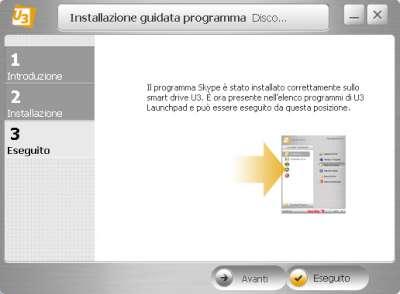Esempio di creazione applicazione in standard U3