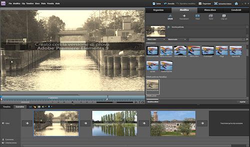 Adobe Premiere Elements 9: esempio di applicazione effetto