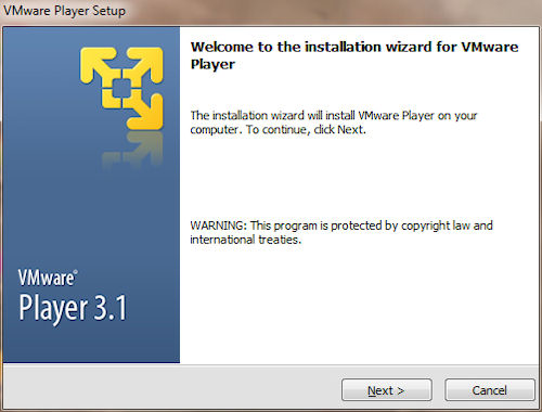 Installazione VMware Player