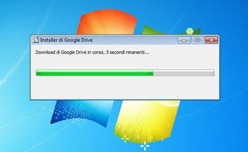 L'installazione di Google Drive su desktop