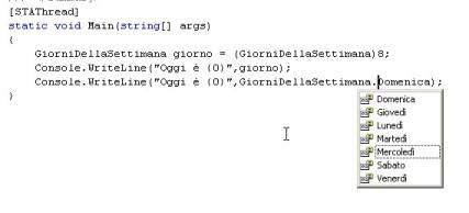 Editing del codice