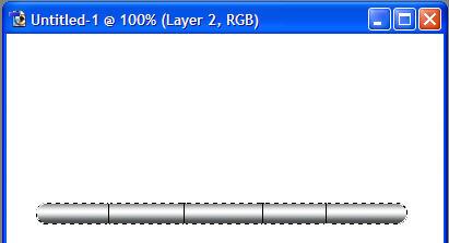 Il rettangolo dopo il disegno delle linee