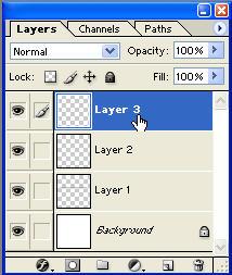 Creazione del livello Layer 3