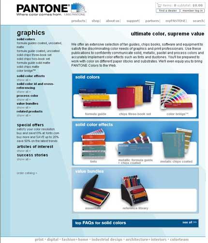 Pagine interne del sito