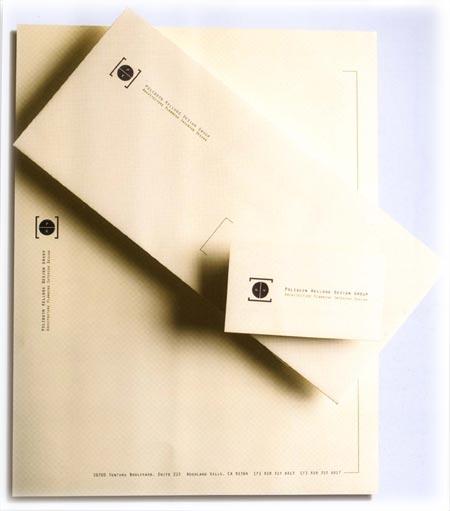 Esempio di busta e carta intestata